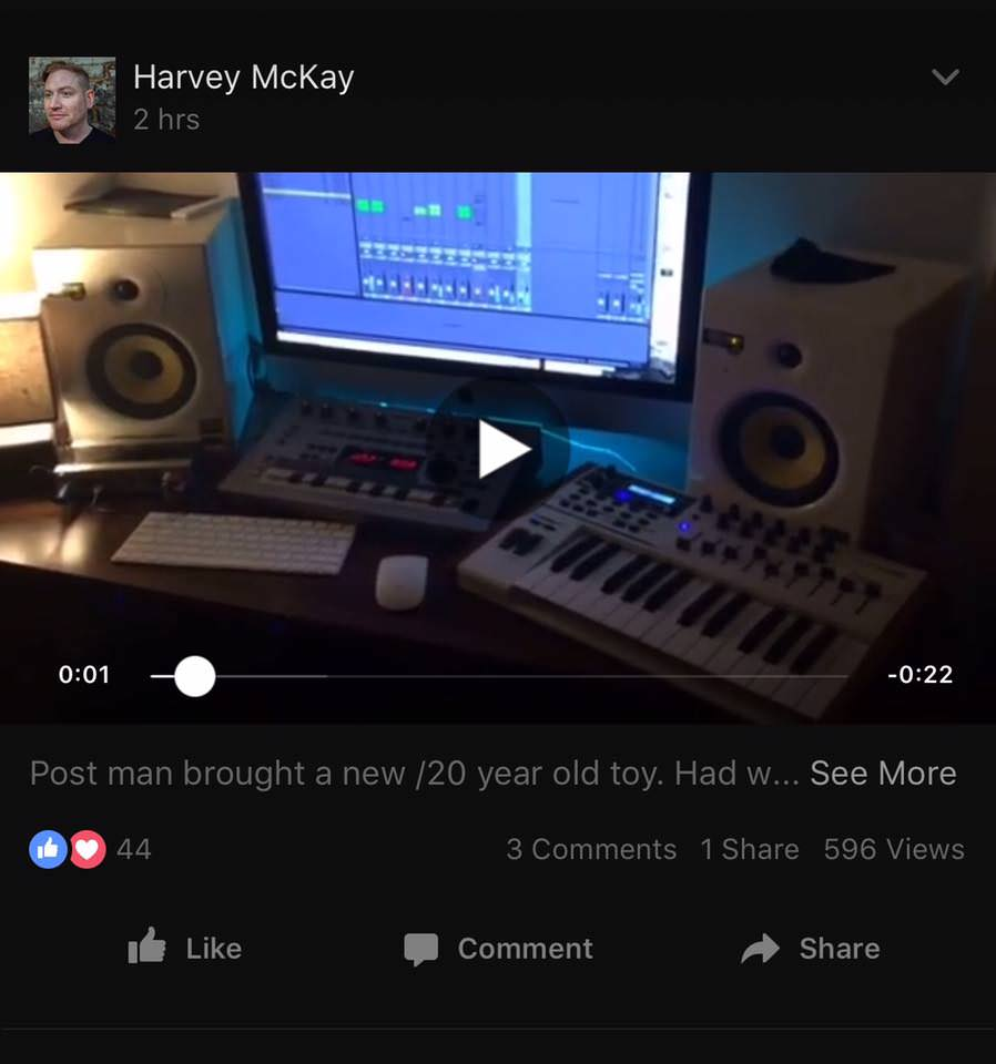harvey mckay set up